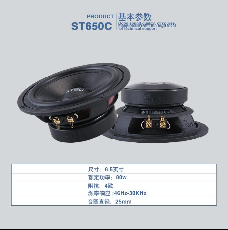史泰格ST650喇叭
